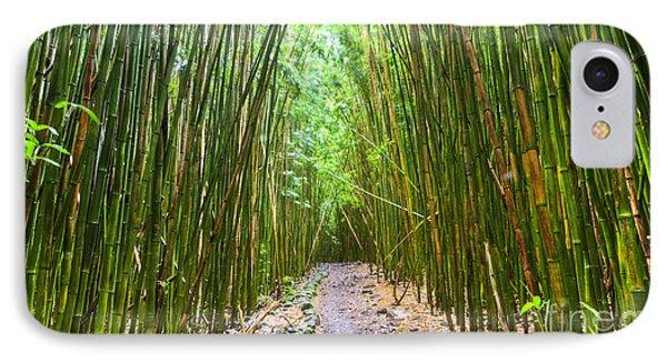 Bamboo Forest Trail Hana Maui 2 Phone Case by Dustin K Ryan