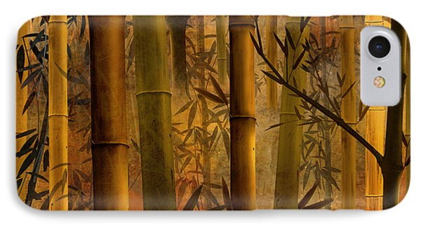 Bamboo Heaven IPhone Case by Bedros Awak