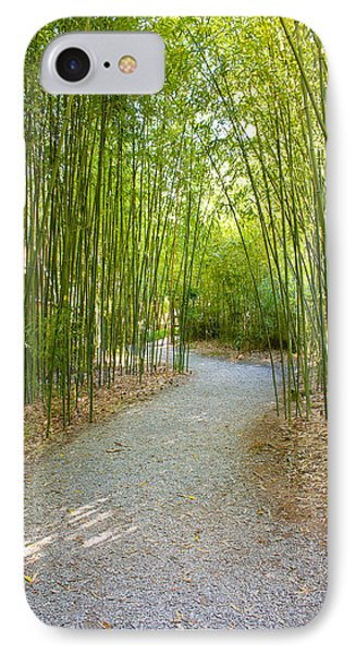 Bamboo Path 1 IPhone Case by Denise Keegan Frawley