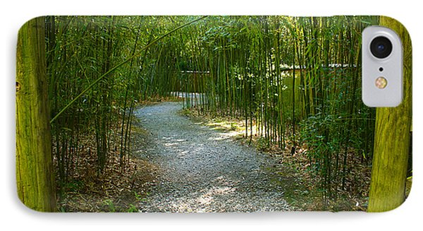 Bamboo Path 2 IPhone Case by Denise Keegan Frawley