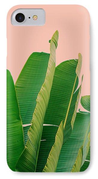 Banana Leaves IPhone 7 Case by Rafael Farias