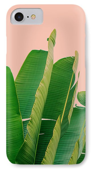 Banana Leaves IPhone Case by Rafael Farias