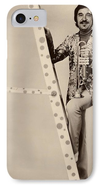Band Leader Doc Serverinsen 1974 IPhone Case by Mountain Dreams