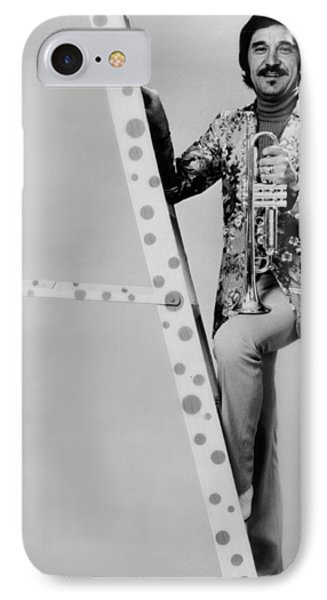 Band Leader Doc Severinson 1974 IPhone 7 Case by Mountain Dreams