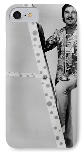 Band Leader Doc Severinson 1974 IPhone Case by Mountain Dreams