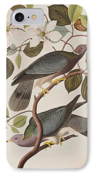 Band-tailed Pigeon  IPhone 7 Case by John James Audubon