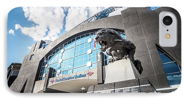 Bank Of America Stadium Carolina Panthers Photo IPhone 7 Case by Paul Velgos