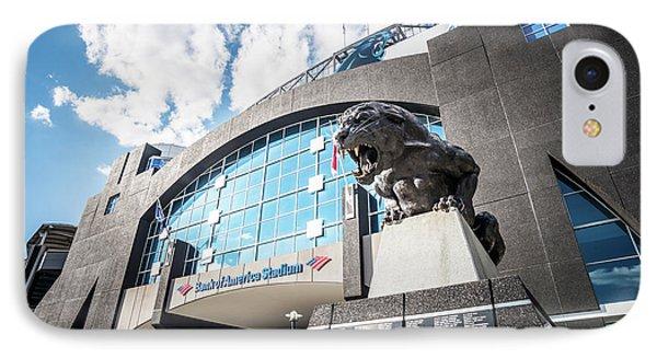 Bank Of America Stadium Carolina Panthers Photo IPhone Case by Paul Velgos
