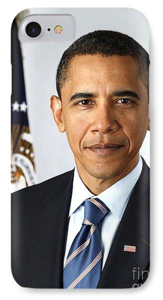 Barack Obama (1961- ) Phone Case by Granger