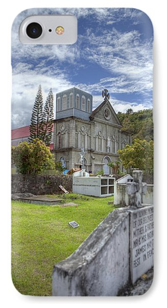 Barbados Cemetary IPhone Case by Jon Glaser