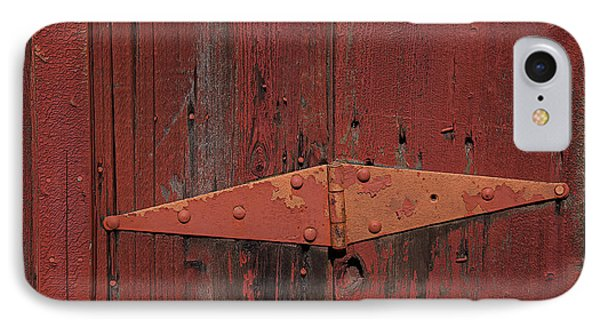 Barn Hinge IPhone Case by Garry Gay