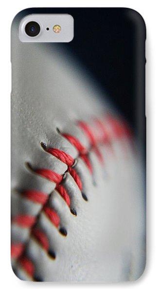 Baseball Fan IPhone Case by Rachelle Johnston