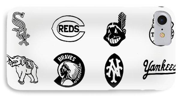 Baseball Logos Phone Case by Granger