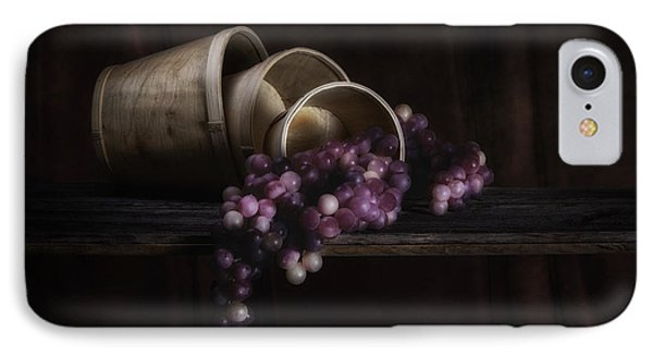 Basket Of Grapes Still Life IPhone Case by Tom Mc Nemar