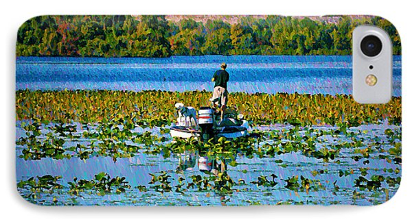 Bass Fishing Phone Case by Bill Cannon