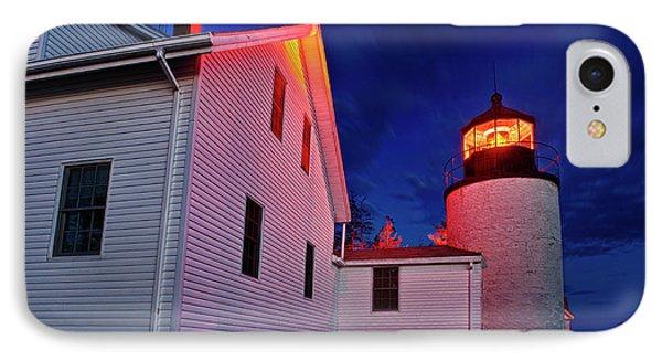 Bass Harbor Lighthouse Maine Phone Case by John Greim