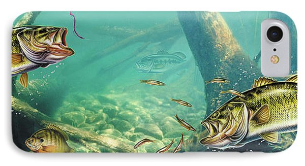 Bass Lake Phone Case by JQ Licensing