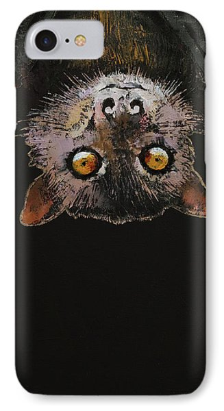 Bat IPhone Case by Michael Creese