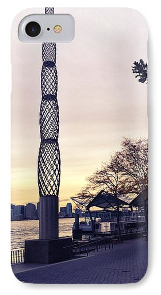 Battery Park City, New York IPhone 7 Case by Sandy Taylor