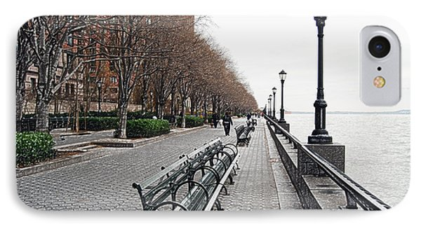 Battery Park Phone Case by Michael Peychich