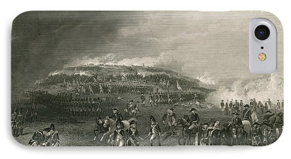 Battle Of Bunker Hill, 1775 IPhone Case by Photo Researchers