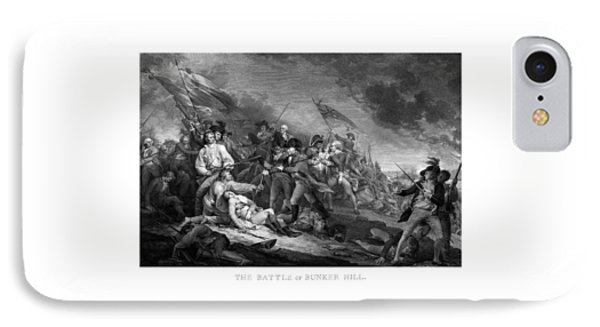 Battle Of Bunker Hill IPhone Case by War Is Hell Store