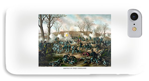 Battle Of Fort Donelson IPhone Case by War Is Hell Store