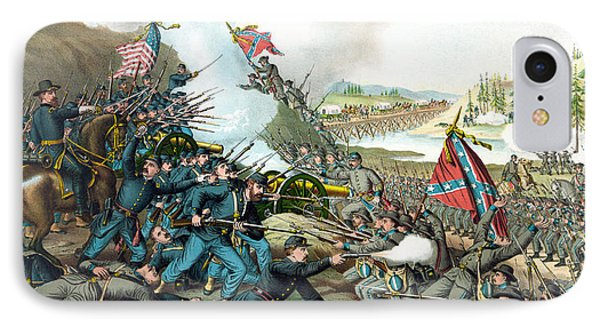 Battle Of Franklin - Civil War IPhone Case by War Is Hell Store