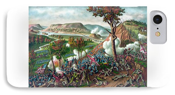 Battle Of Missionary Ridge Phone Case by War Is Hell Store