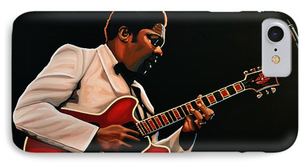B. B. King IPhone Case by Paul Meijering