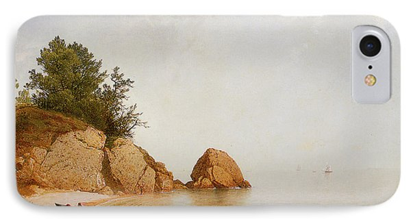 Beach At Beverly IPhone Case by John Frederick Kensett