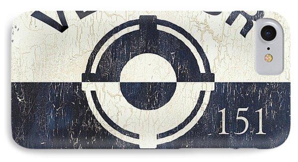 Beach Badge Ventnor IPhone Case by Debbie DeWitt