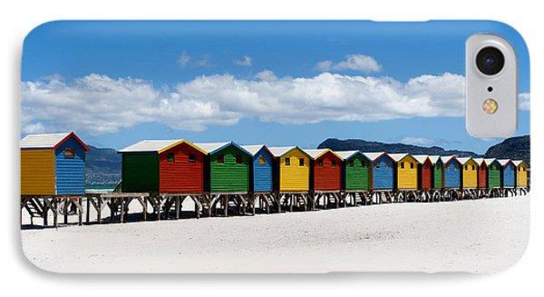 Beach Cabins  Phone Case by Fabrizio Troiani