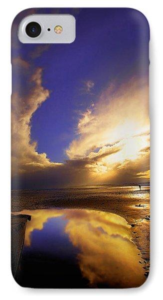 Beach Sunset Phone Case by Svetlana Sewell