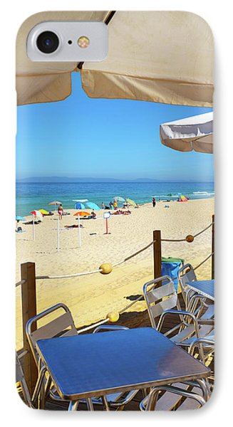 Beach Terrace IPhone Case by Carlos Caetano