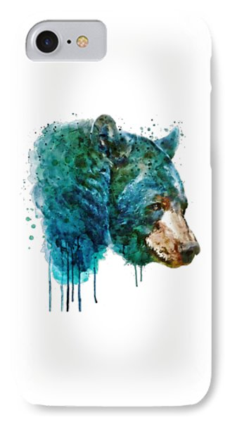 Bear Head IPhone Case by Marian Voicu