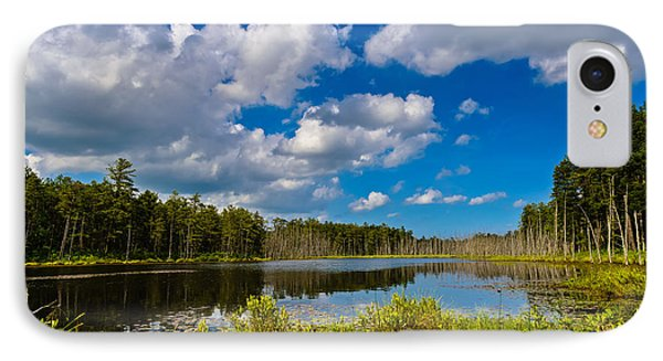 Beautiful Afternoon In The Pine Lands IPhone Case by Louis Dallara