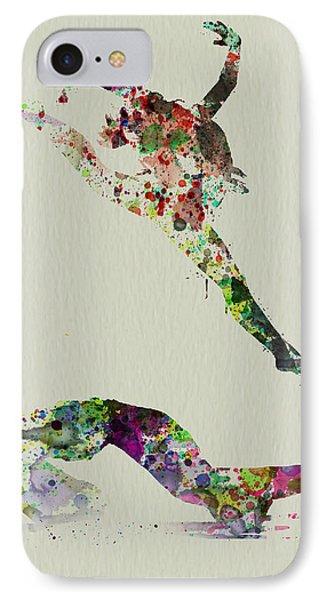 Beautiful Ballet IPhone Case by Naxart Studio