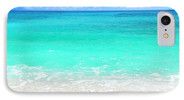 Beautiful Blue Sea Beach IPhone Case by Anna Omelchenko