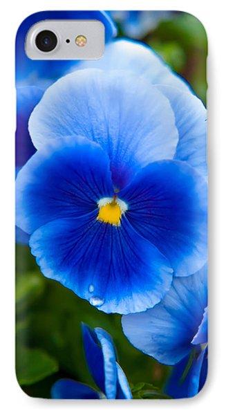 Beautiful Blues IPhone Case by Az Jackson