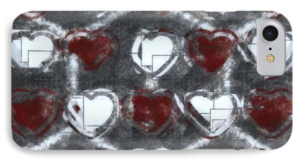 Beautiful Heart Crush IPhone Case by Toppart Sweden