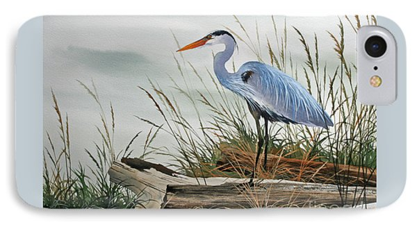 Beautiful Heron Shore IPhone 7 Case by James Williamson