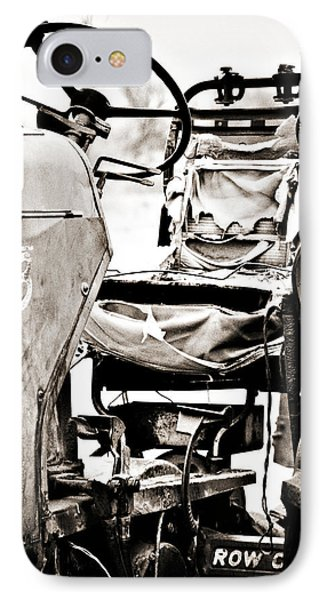 Beautiful Oliver Row Crop Old Tractor IPhone Case by Marilyn Hunt