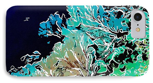 Beautiful Sea Fan Coral 1 Phone Case by Lanjee Chee