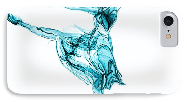 Beauty, Grace And Music Of The Ballerina IPhone Case by Abstract Angel Artist Stephen K