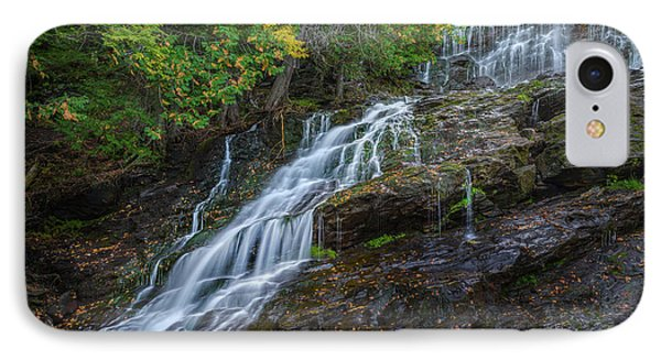 Beaver Brook Falls IPhone Case by Bill Wakeley