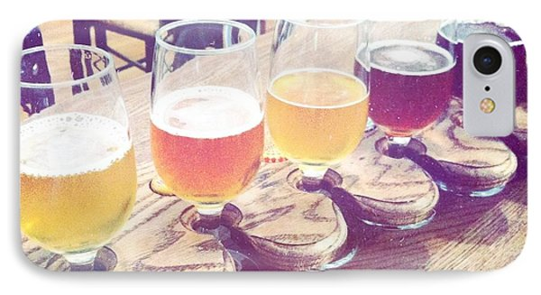 Beer Flight Phone Case by Nina Prommer