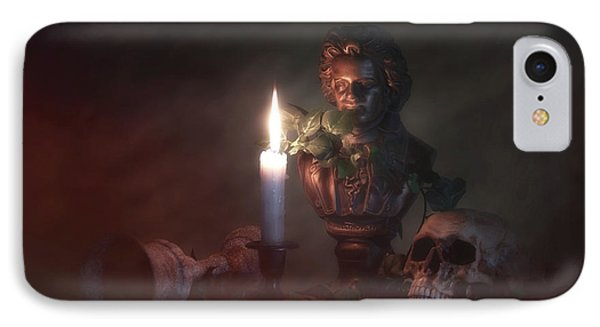 Beethoven By Candlelight IPhone Case by Tom Mc Nemar