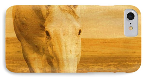 Beggar In Yellow IPhone Case by Amanda Smith
