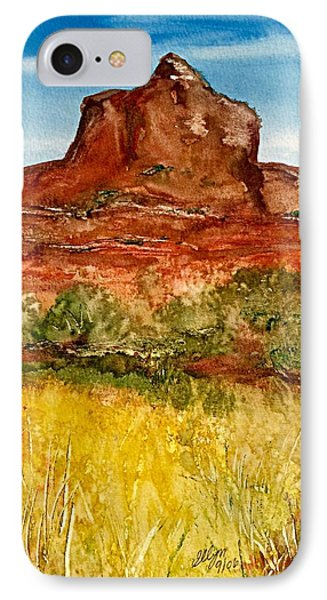 Bell Rock Sedona Arizona IPhone Case by Ellen Levinson